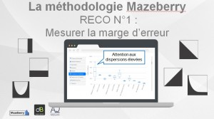 Attribution en marketing digital. Reco N°1:mesurer la marge d'erreur